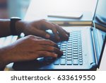 connect online business using... | Shutterstock . vector #633619550