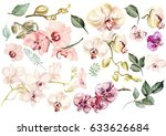Beautiful Watercolor Set With...