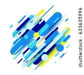 vector illustration of dynamic...   Shutterstock .eps vector #633635996