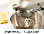 a closeup of bread mixer in... | Shutterstock . vector #633651284