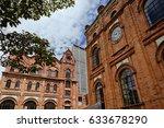 bogota colombia june 15 2016 ... | Shutterstock . vector #633678290
