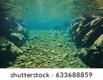 Rocks And Pebbles Underwater I...