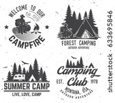 camper and caravaning club.... | Shutterstock .eps vector #633695846