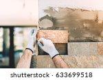 details close up of... | Shutterstock . vector #633699518