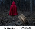 little red riding hood in the... | Shutterstock . vector #633701078
