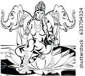 lakshmi | Shutterstock .eps vector #633704324
