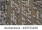 aerial view of huge storage... | Shutterstock . vector #633721640