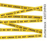 Police Line Do Not Cross Tape....