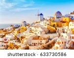 Skyline Of Oia  Traditional...