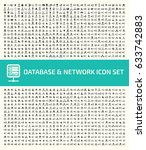 database and network icon set... | Shutterstock .eps vector #633742883