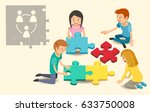 common problem solving of... | Shutterstock .eps vector #633750008