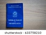 brazilian document work and... | Shutterstock . vector #633758210