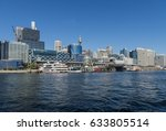darling harbour with barangaroo ...   Shutterstock . vector #633805514