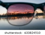 Sunglasses Showing Effect Of...
