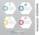 modern info graphic template... | Shutterstock .eps vector #633830648
