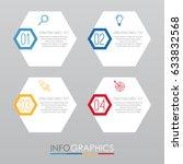 modern info graphic template... | Shutterstock .eps vector #633832568