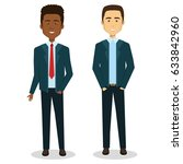 business people avatars... | Shutterstock .eps vector #633842960