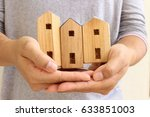 house models on holding hands... | Shutterstock . vector #633851003