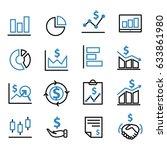 economy marketing financial...   Shutterstock .eps vector #633861980
