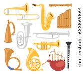 wind musical instruments tools...