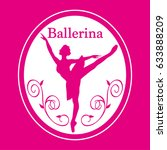 Illustration Of Ballerina. ...