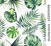 bright beautiful green herbal... | Shutterstock . vector #633905498