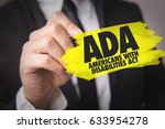 ada   americans with... | Shutterstock . vector #633954278