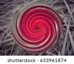 object rotation red | Shutterstock . vector #633961874
