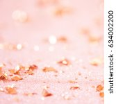 Stock photo golden background texture rose gold foil 634002200