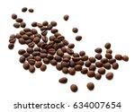 coffee beans | Shutterstock . vector #634007654