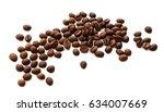 coffee beans | Shutterstock . vector #634007669