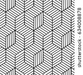 geometrical pattern | Shutterstock .eps vector #634008878