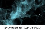 computer generated abstract... | Shutterstock . vector #634054430