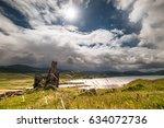 Ardvreck Castle At Loch Assynt  ...