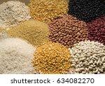 several grains | Shutterstock . vector #634082270