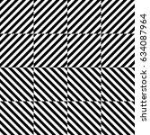 vector seamless pattern.... | Shutterstock .eps vector #634087964
