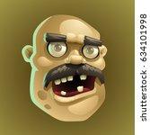 zombie 4 | Shutterstock .eps vector #634101998