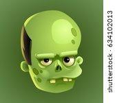 zombie 2 | Shutterstock .eps vector #634102013