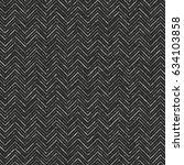 abstract charcoal herringbone... | Shutterstock .eps vector #634103858