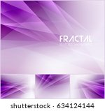 fractal abstract background... | Shutterstock .eps vector #634124144