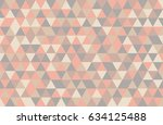 abstract retro pattern of... | Shutterstock .eps vector #634125488