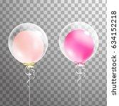 set of holiday white... | Shutterstock .eps vector #634152218
