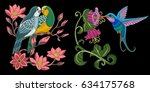 Embroidery Bird Designs....