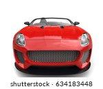modern fast raging red... | Shutterstock . vector #634183448