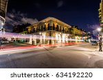 downtown french quarters new... | Shutterstock . vector #634192220