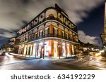 downtown french quarters new... | Shutterstock . vector #634192229