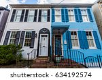 generic homes in annapolis ... | Shutterstock . vector #634192574