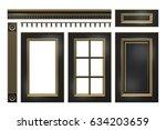 Black With Gold Door  Drawer ...