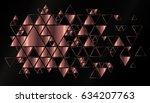 geometric  abstract  vector... | Shutterstock .eps vector #634207763