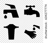 obsolete icons set. set of 4... | Shutterstock .eps vector #634277774